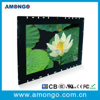 17'' inch led backlight auto IR touch industrial panel pc with 1000:1 high contrast ratio