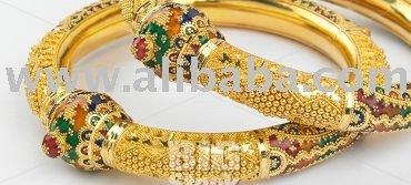 Indienne Gold bracelet