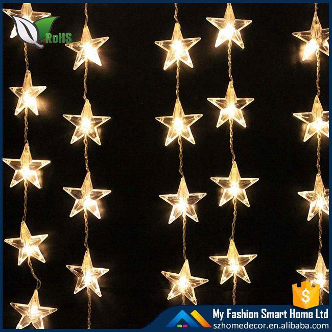 12 Led Moroccan Solar Powered Christmas Fairy String Xmas Garden ...