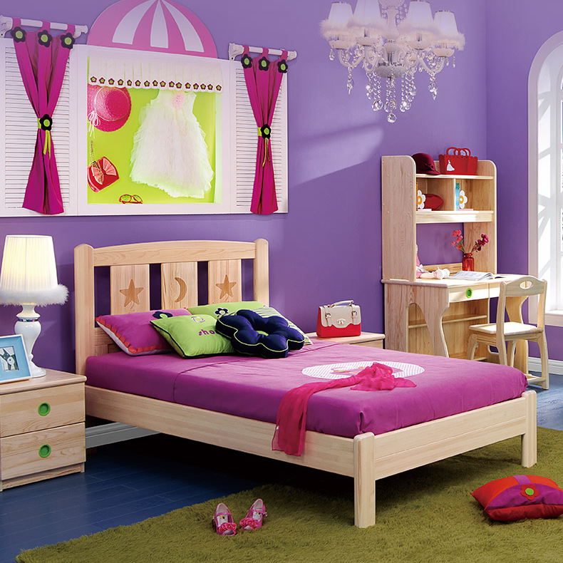 Bedroom Furniture Children Bed Modern