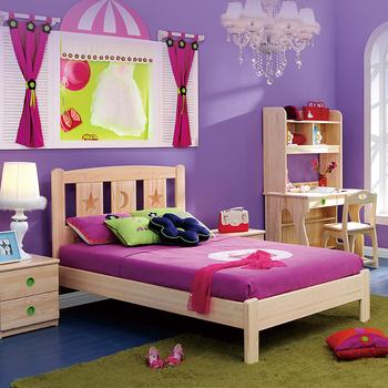 Bedroom Furniture Children Bed,Modern Wood Kids Single Bed - Buy Double Bed  Design Furniture,Double Bed For Children,Wooden Double Bed Product on ...
