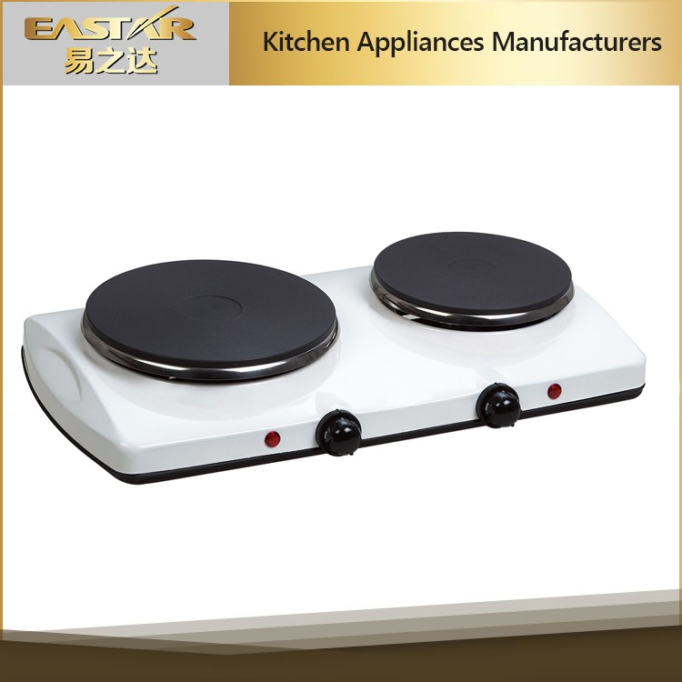 Kitchen Applience 2 Burner Solar Electric Stove Built In Countertop Hot  Plates , Electric Cooker