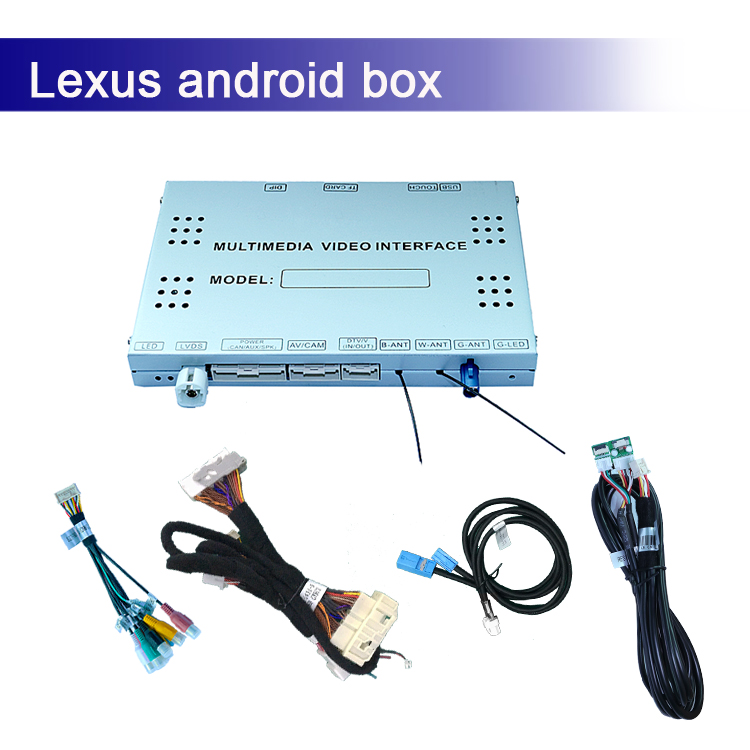 Android GPS navigation multimedia video interface box for Lexus gs