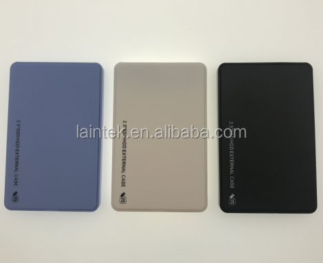 computer hardware computer software hot selling plastic OEM custom brand 2.5inch USB 3.0 HDD enclosure