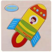 Детские игрушки, деревянные головоломки и милые носки с рисунками зверей из мультфильмов, интеллекта детей образовательный мозговой тизер ...(Китай)