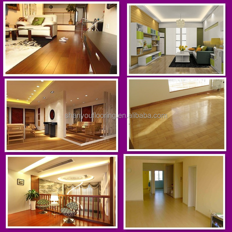 golden pear strand woven bamboo flooring shanyou flooring with locking system