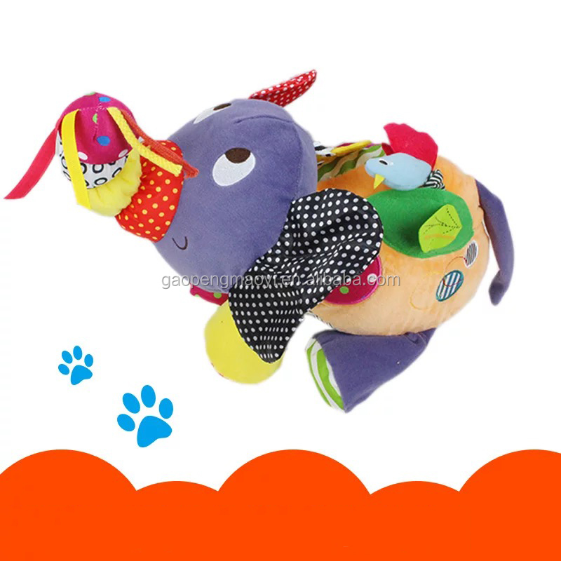 New product cartoon stuffed plush animal hanging toy for kids