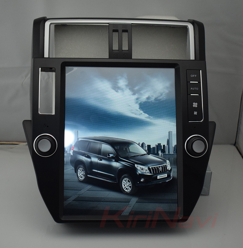KiriNavi WC-TP1211 android 6.0 12.1 inch Vertical screen car dvd player for Toyota Pardo 2009 - 2013 gps navigation 2G 32G ROM