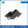 Wallmount Switching Power Adapter ac dc 9v 1a adapter