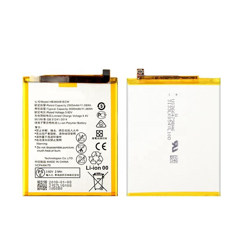 3000mAh mobile Phone Li ion Battery HB366481ECW for Huawei Honor 8 Ascend P9 G9 P9 Lite 5C Honor 8 lite 2900 фото