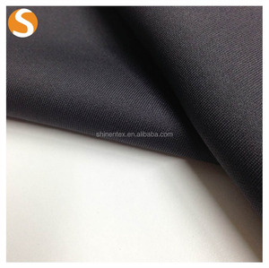 Thick fabricpolyester spandex scuba knitting fabric for winter garment