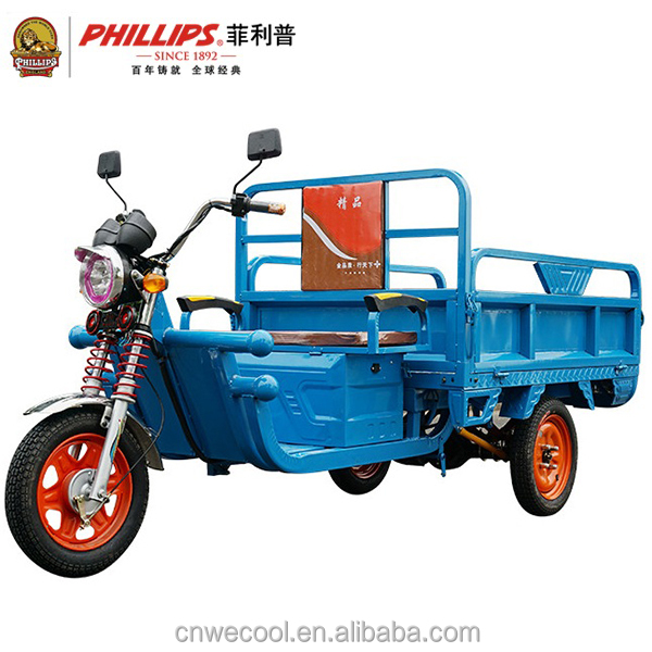 Best Safety Popular 60V 1000W Three Wheel Electric Cargo Tricycle