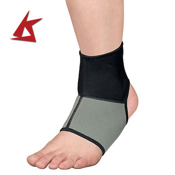 KS-090# 3mm Neoprene ankle support brace with Customized logo
