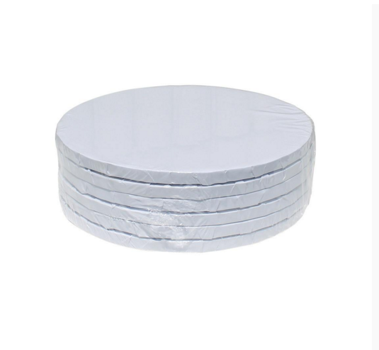 """2 x 16/"""" Inch Heart Shaped Cake Drum Board 1//2/"""" 12mm THICK"""