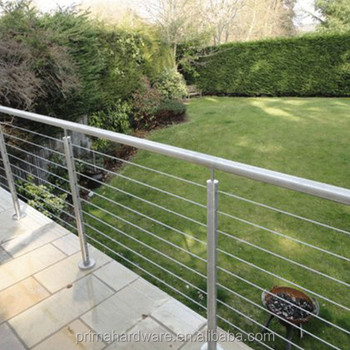 Outdoor Porch Railing Stainless Steel Cable/wire Balustrade - Buy ...