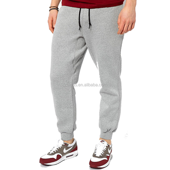 998da928ffef0d Athletic Style Mens Cotton Polyester Sweatpants Joggers With Side Zipper