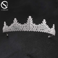 High quality bridal tiara wedding hair crown tiaras for sale