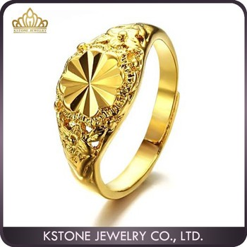 Kstone 2015 Fall In Love New Model Engagement Gold Couple Ring 18kgp