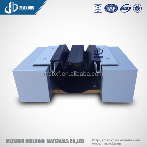 construction flush rubber exterior wall concrete expansion joint covers