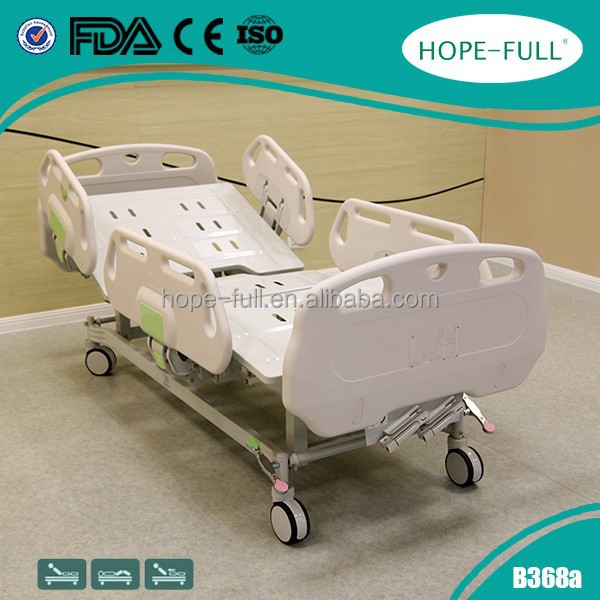 HOPEFULL Imported ABS engineering plastic Hospital manual bed