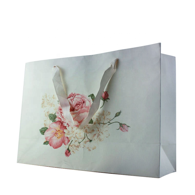 Nice 멋을 낼 Wholesale OEM UV Logo 종이 Shopping Bag/Gift Bag