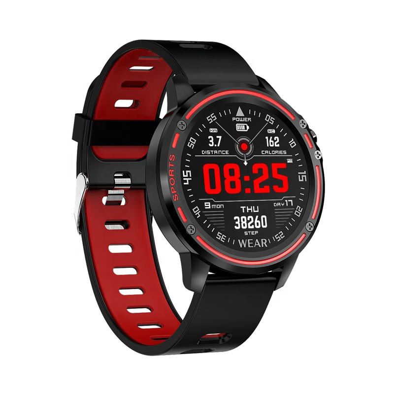 L8 Smart Watch ECG+PPG Blood Pressure Heart Rate Watch IP68 Waterproof Smart Sports Bracelet Watch фото