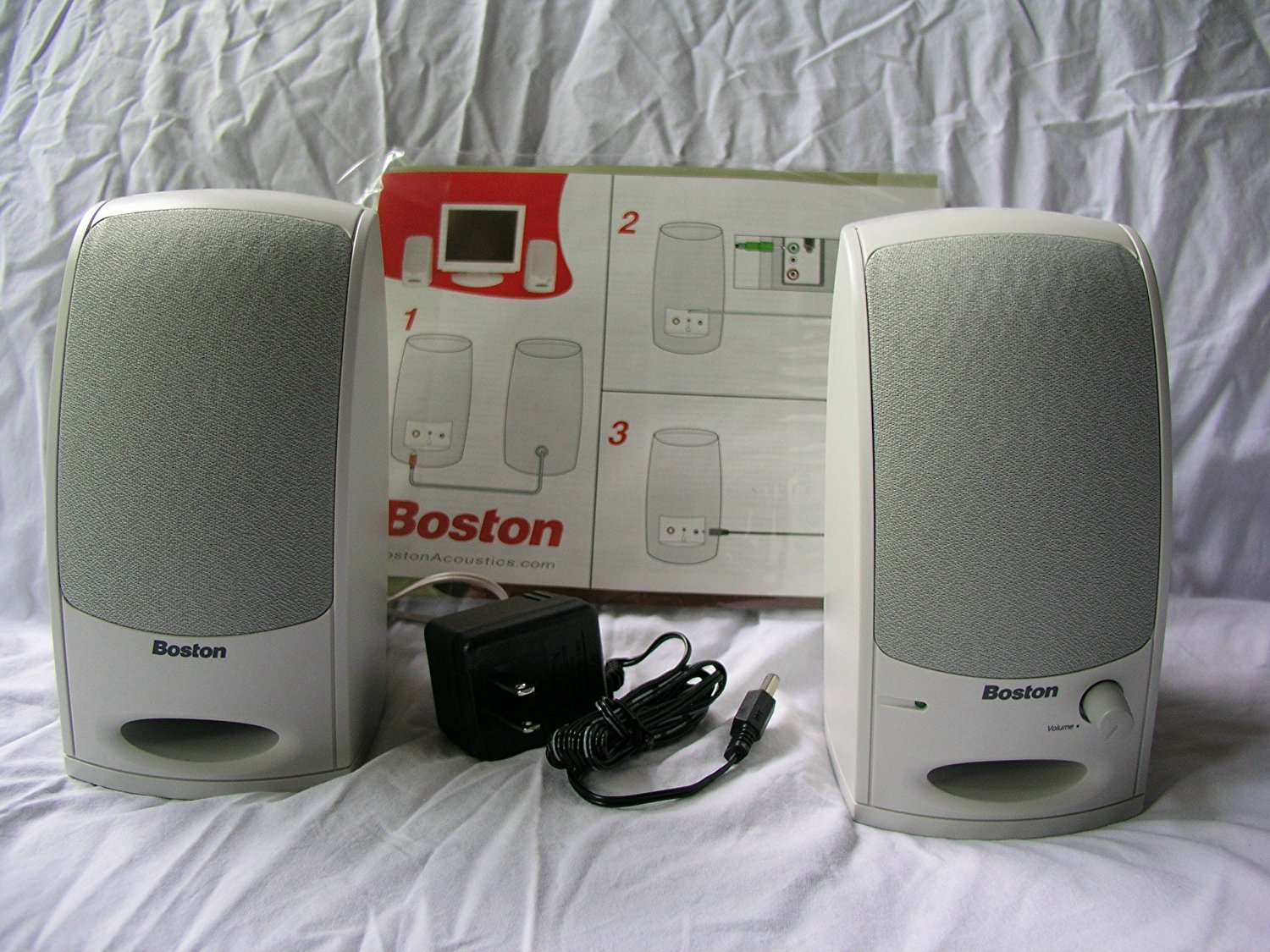 Cheap Boston Acoustics Speakers Find A 225c Get Quotations Ba 265 Computer