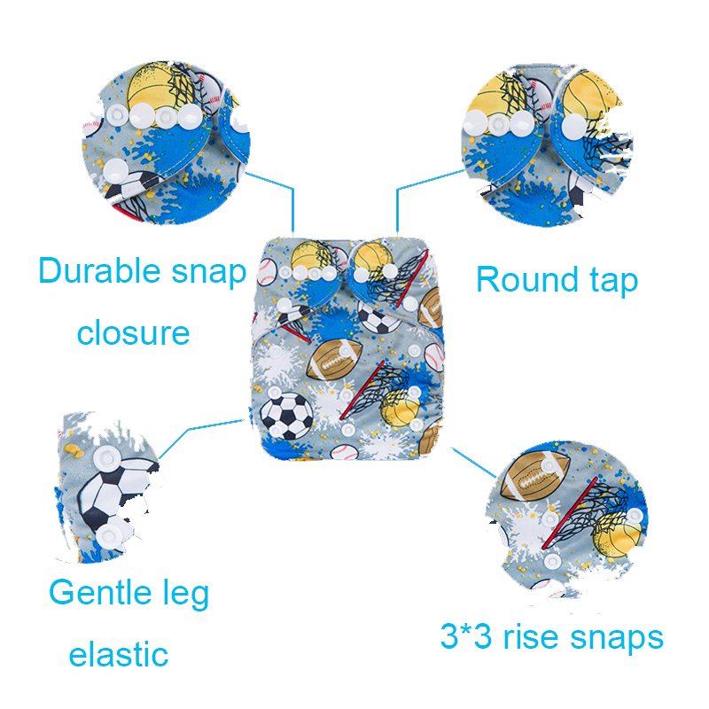 Оптовая продажа цифровой товары пеленки и прочной ткани пеленки