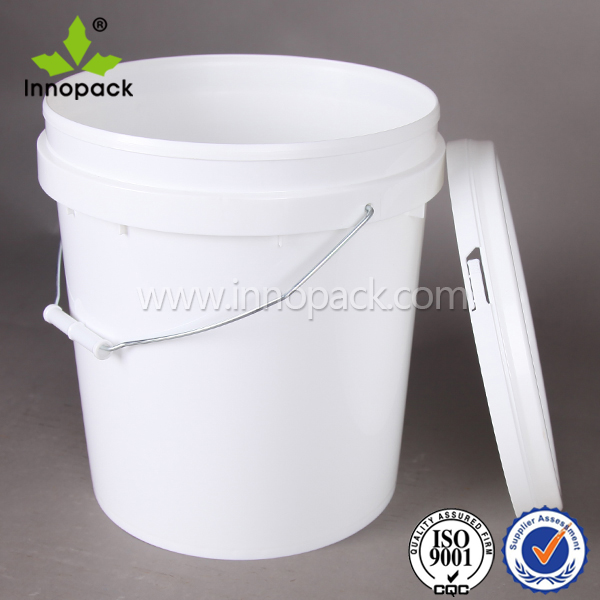 15L customized round bucket type plastic bucket glue bucket