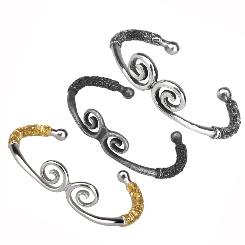 Bangles New Fashion Women Monkey King Magic Spell Opening Cuff Bangle Bracelet Jewelry By Scientific Process