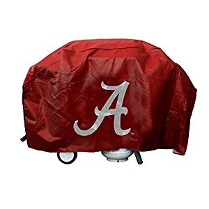 NCAA Licensed Deluxe Grill Covers - Alabama Crimson Tide by Tag Express