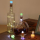 2018 Newest Hot Sell Starry Wedding Decor USB Charging 10LED Copper Wire Wine Bottle Cork Shape Light