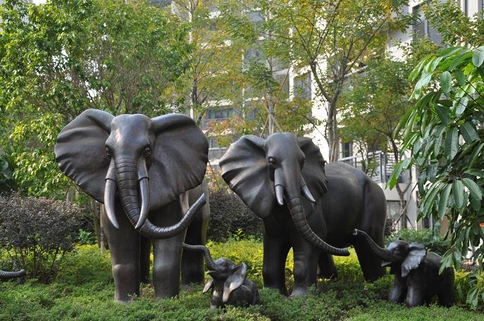 Delightful Garden Elephant Sculpture, Garden Elephant Sculpture Suppliers And  Manufacturers At Alibaba.com