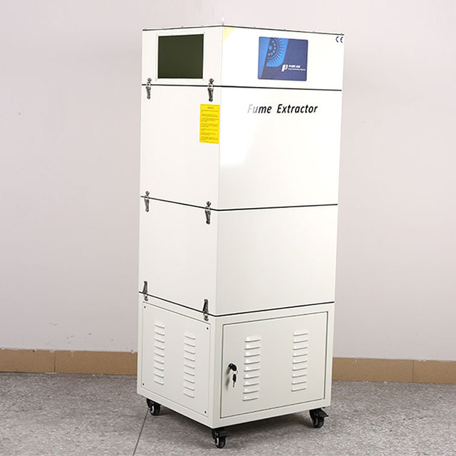 High efficiency Air clean unit for laser cutting plastic
