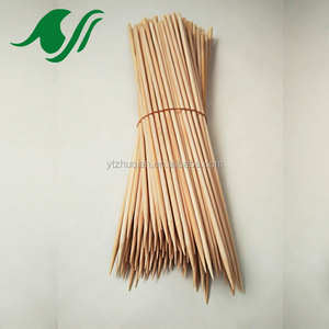 110pcs per bag natural long bamboo marshmallow roasting sticks big BBQ use