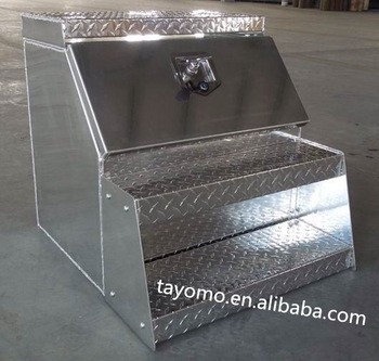 Hot Sale Cheap Waterproof Aluminum Husky Step Tool Box for Truck