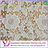 Polyester jacquard embroidery bridal lace fabric wholesale
