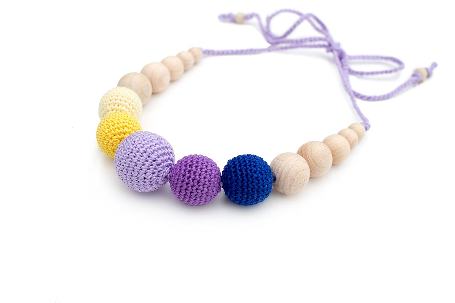 Natural Baby Teething Necklace For Mom