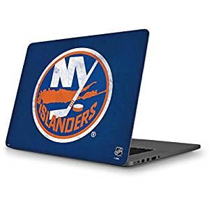 NHL New York Islanders MacBook Pro 13 (2013-15 Retina Display) Skin - New York Islanders Distressed Vinyl Decal Skin For Your MacBook Pro 13 (2013-15 Retina Display)