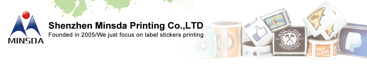 Custom Printing Waterproof Happiness Sheet Double Sided Adhesive Label Sticker