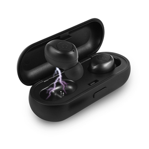 Mini Earphones Bluetooth Wireless earphones Vertion5.0 headphones TWS RX18 with portable charger