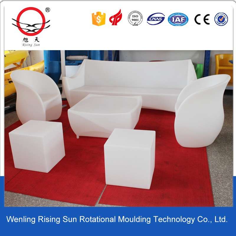 rotomolding mold for plastic furniture and road barrier