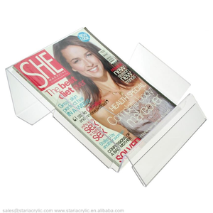 Acrylic Leaflet Dispenser Clear Magazine Rack Acrylic Acrylic Brochure Holder Template Free