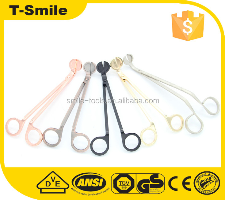 Useful Candle Wick Oil Lamps Stainless Steel Trim Scissors Cutter Snuffers Tool By Wick Trimmer
