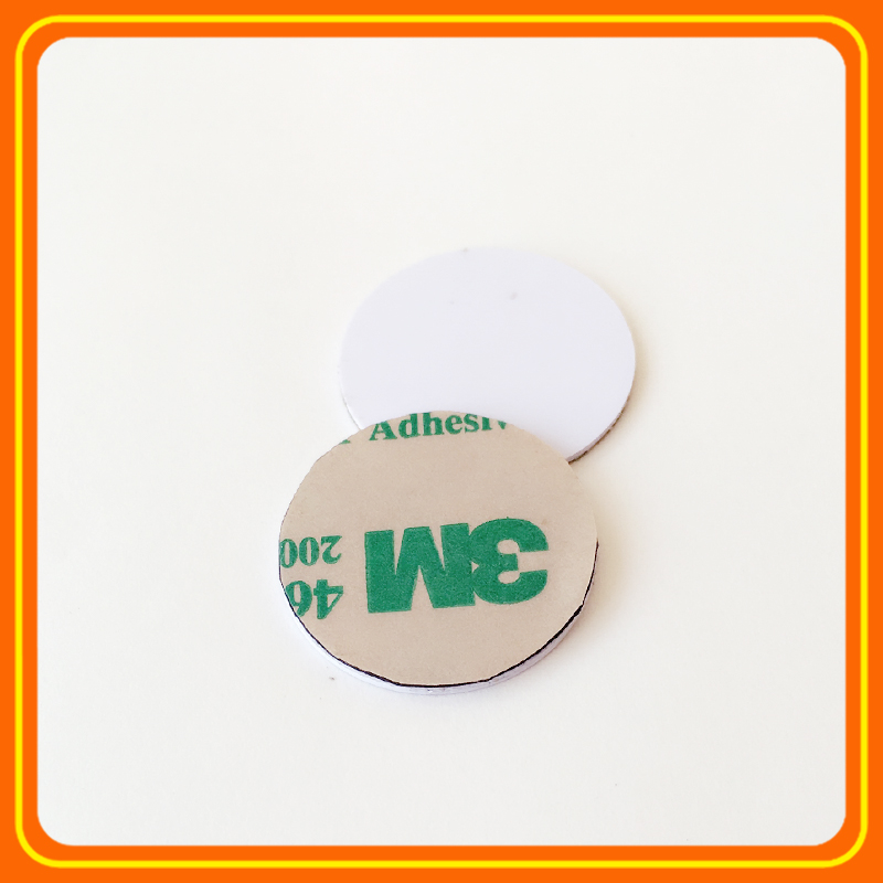 RFID Smart IC Cards 13.56Mhz Coin NFC Tags for Access Control