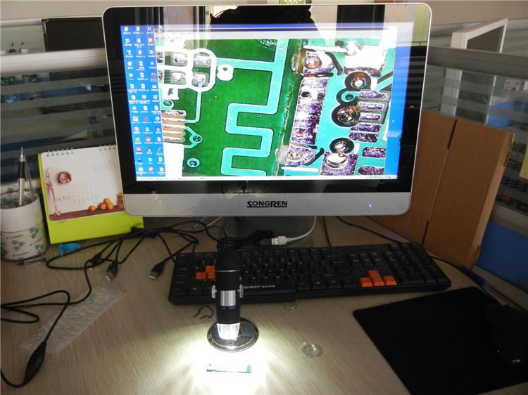 Atomic force mikroskop abbildungsmaßstab 1600x usb