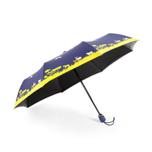 Superior nice design good offer wholesale cheap automatic 3 fold umbrella