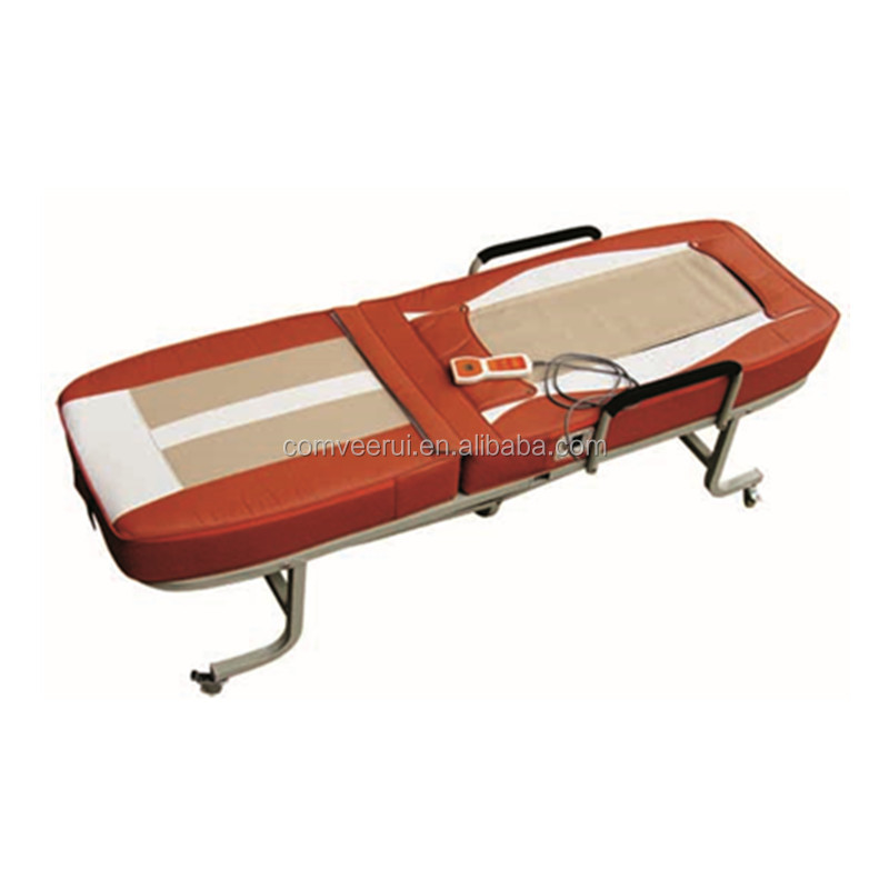 Folding Full Body Massage Bed Far Infrared Jade Massager Table Thermal therapy Beds