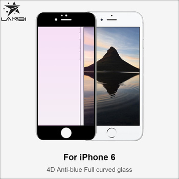 52432ed0a81 4D Anti-radiation Anti-blue Light Tempered Glass Screen Protector For Iphone  6