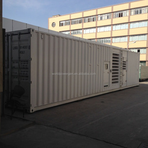 Germany MTU diesel genset 1200kw
